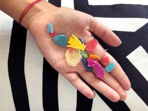 plastics can become microplastics in the sea
