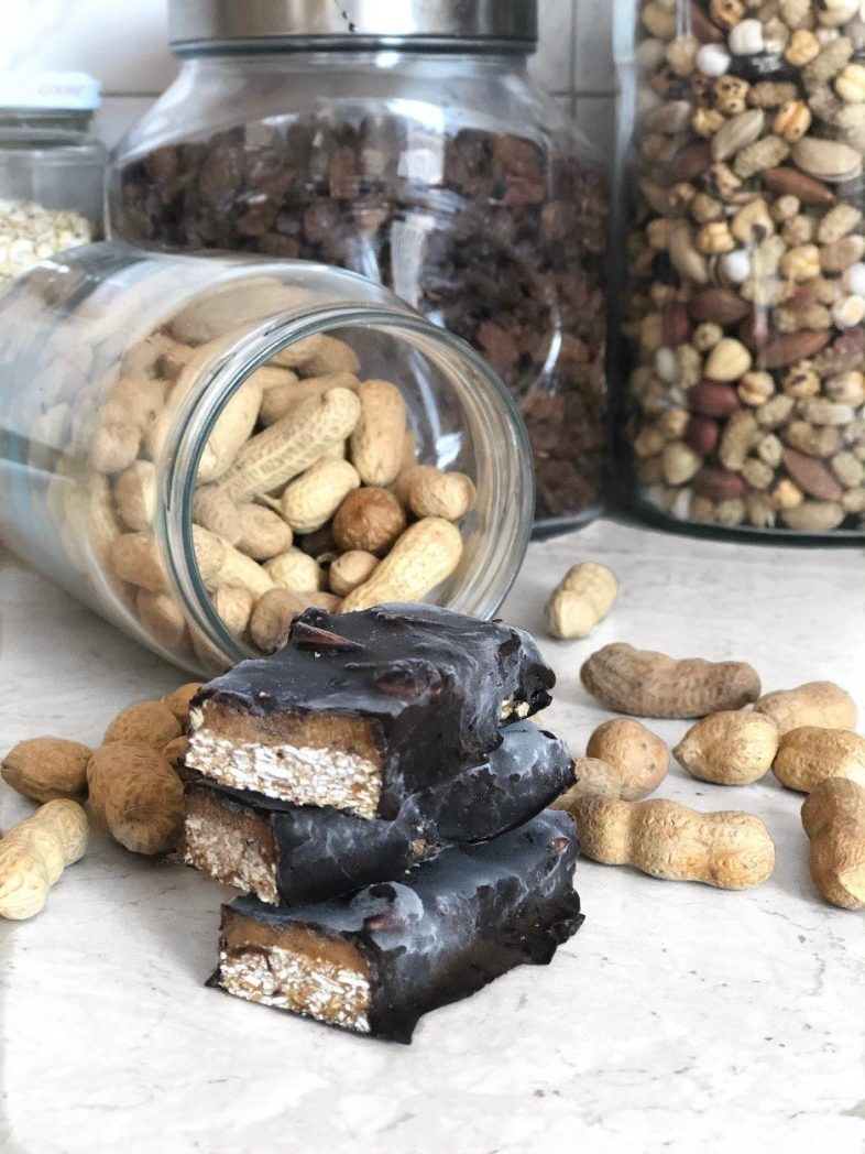 homemade vegan zero waste snacks